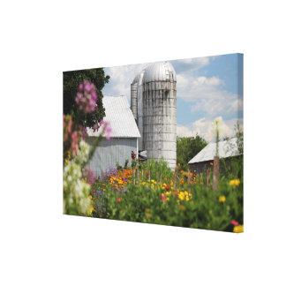 Canvas da fazenda do verão impressão em tela canvas
