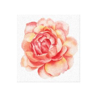 Canvas da flor do Watercolour