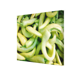 Canvas da foto das pimentas brancas