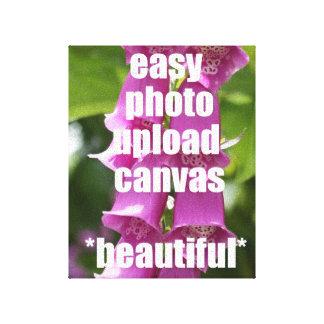 Canvas da foto do bestseller seu próprio rápido fá impressão de canvas envolvidas
