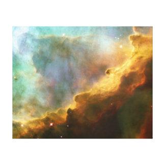 Canvas da nebulosa da cisne impressão em canvas