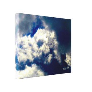 Canvas da nuvem do crânio