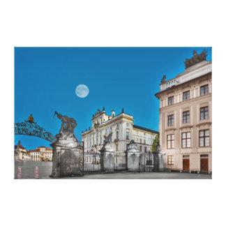 Canvas da porta do castelo de Praga