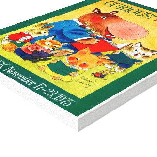 Canvas da semana de livro de 1975 crianças