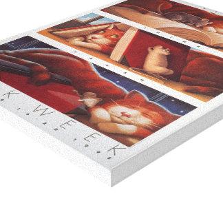 Canvas da semana de livro de 1992 crianças