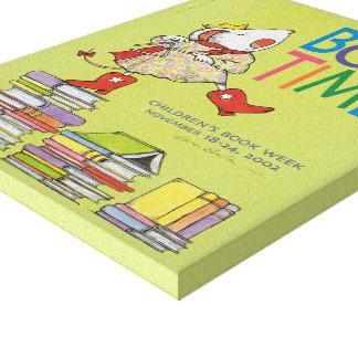 Canvas da semana de livro de 2002 crianças