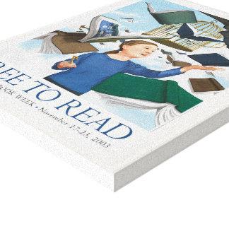 Canvas da semana de livro de 2003 crianças