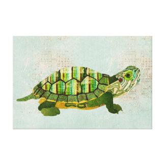 Canvas da tartaruga do jade impressão em tela