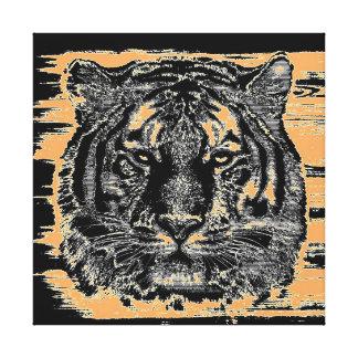 Canvas das belas artes 2 do tigre