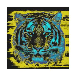Canvas das belas artes do tigre