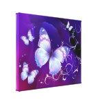 Canvas das borboletas da lavanda impressão em tela canvas
