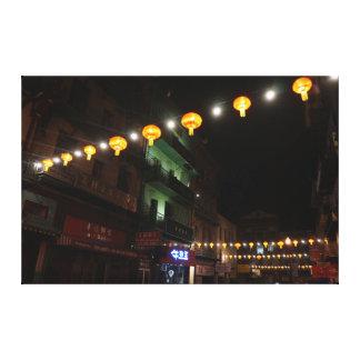 Canvas das lanternas #3 de San Francisco Chinatown