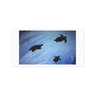 canvas das tartarugas