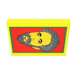 Canvas de arte de Haile Selassie, pela chave de Impressão Em Tela