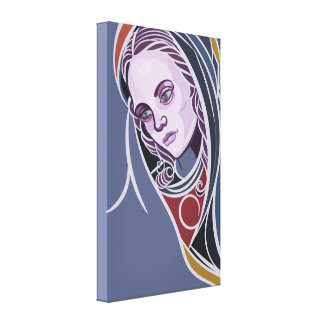Canvas de arte de Mary