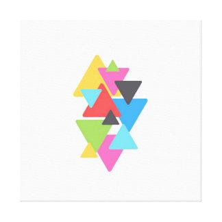 Canvas de Deco do triângulo