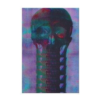 Canvas de esqueleto 50,8 cm x 40,6 cm impressão em tela