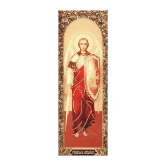 Canvas de Michael do arcanjo do ícone do russo