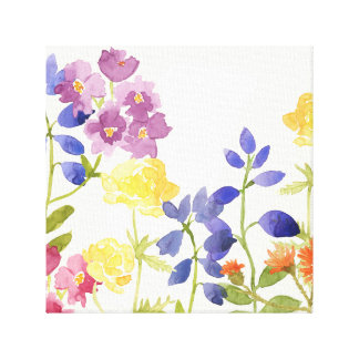 Canvas de pintura coloridas do Watercolour das