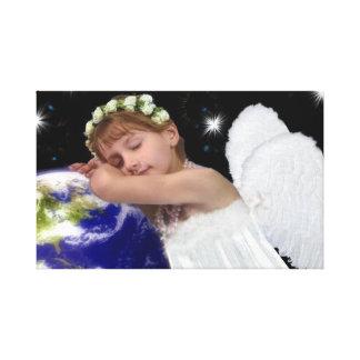 Canvas do anjo-da-guarda