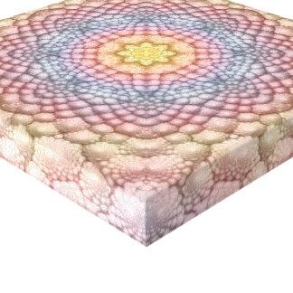 Canvas do caleidoscópio do vintage   dos Pastels