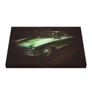 canvas do carro vintage