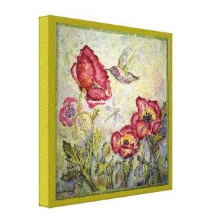 Canvas do impressão 8x8 da aguarela da