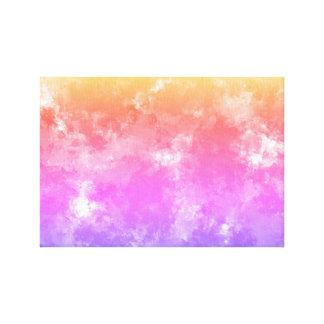 Canvas do impressão da esponja