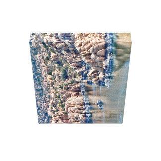 Canvas do lago Watson