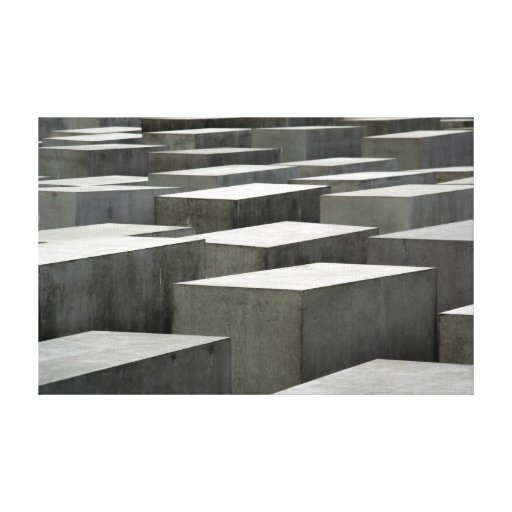 Canvas do memorial do holocausto impressão em canvas
