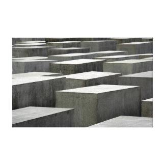 Canvas do memorial do holocausto impressão em tela