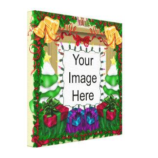 Canvas do modelo da foto do Natal Impressão Em Tela Canvas