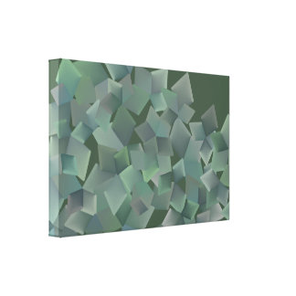 Canvas do negócio quadrado impressão de canvas esticadas