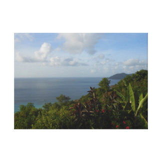 Canvas do paraíso da ilha impressão de canvas envolvidas