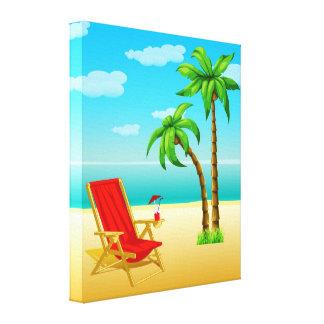 Canvas do poster da fantasia do verão impressão em tela