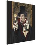 Canvas do retrato de Dracula da contagem Impressão De Canvas Envolvida