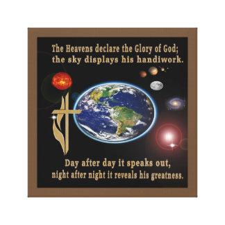 Canvas do salmo 19