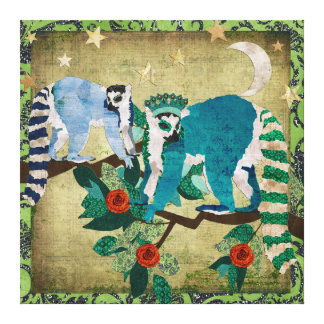 Canvas do Shooting Stars dos Lemurs Impressão Em Tela