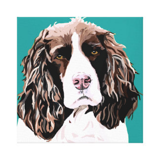 Canvas do Spaniel de Springer