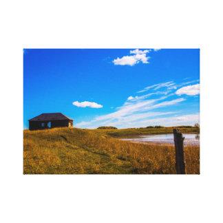 Canvas do sul da paisagem de Alberta