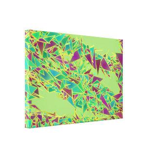 Canvas do vôo do triângulo impressão em tela