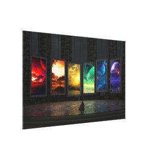 Canvas dos portais impressão de canvas esticadas