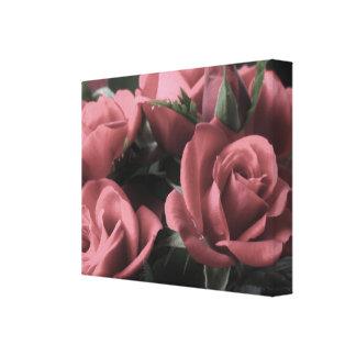 Canvas dos rosas do vintage