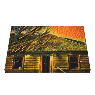 Canvas dos trabalhos de arte da cabine