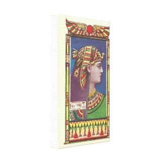 Canvas egípcias da rainha Amenophis
