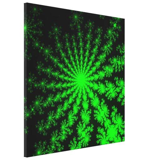 Canvas esticadas do Fractal explosão estrangeira Impressão De Canvas Envolvida