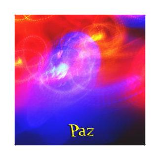 Canvas esticadas - Paz - multicoloridos Impressão Em Tela Canvas