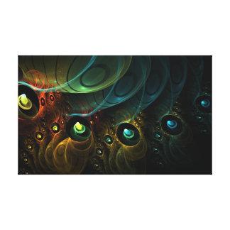 Canvas Etheric 18x11 da Multi-Dimensão Impressão De Canvas Envolvida