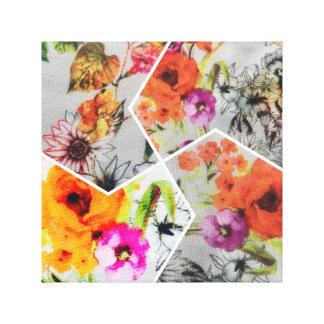 Canvas florais da variedade