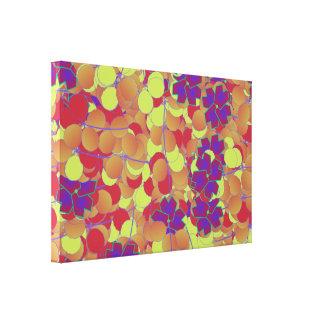 Canvas geométricas do jardim impressão de canvas esticada